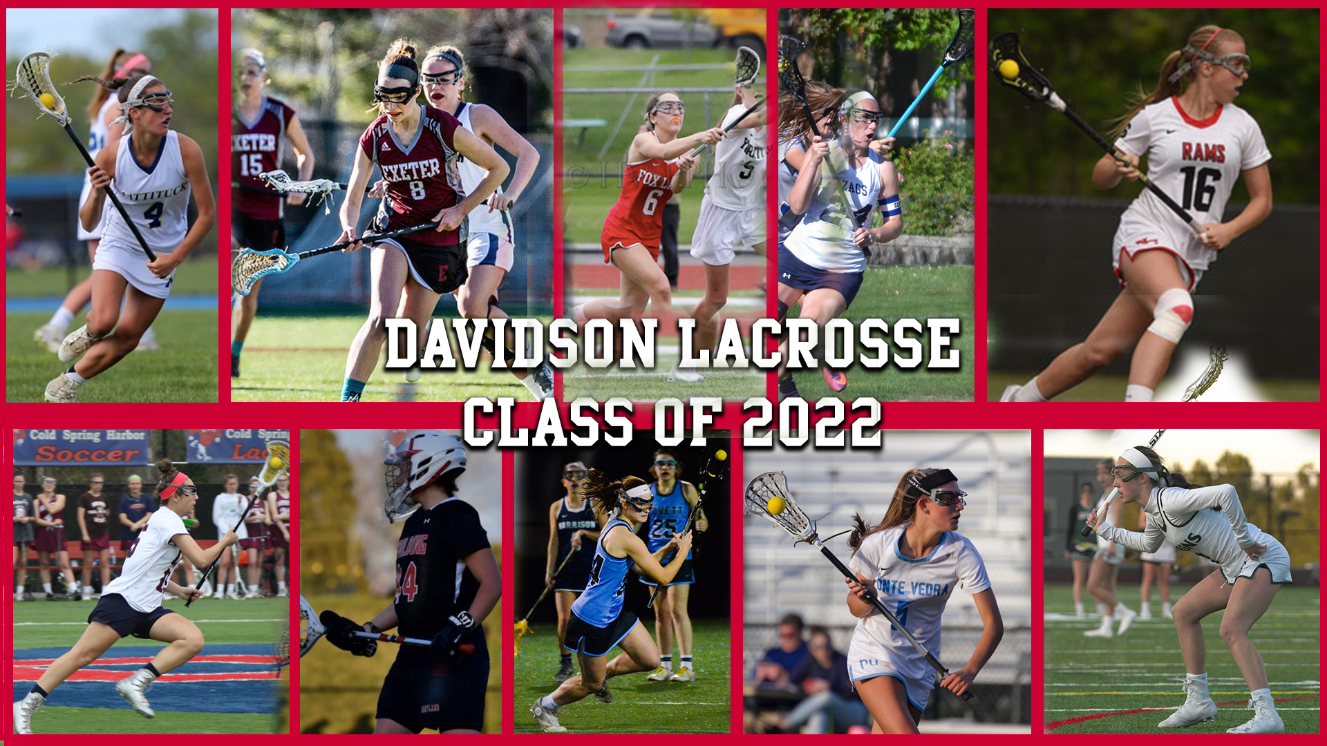 Davidson W  Lacrosse Welcomes 10 to Class of 2022